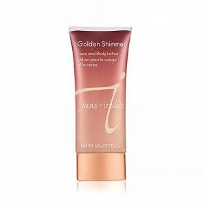 Jane Iredale - Golden Shimmer Face & Body Lotion