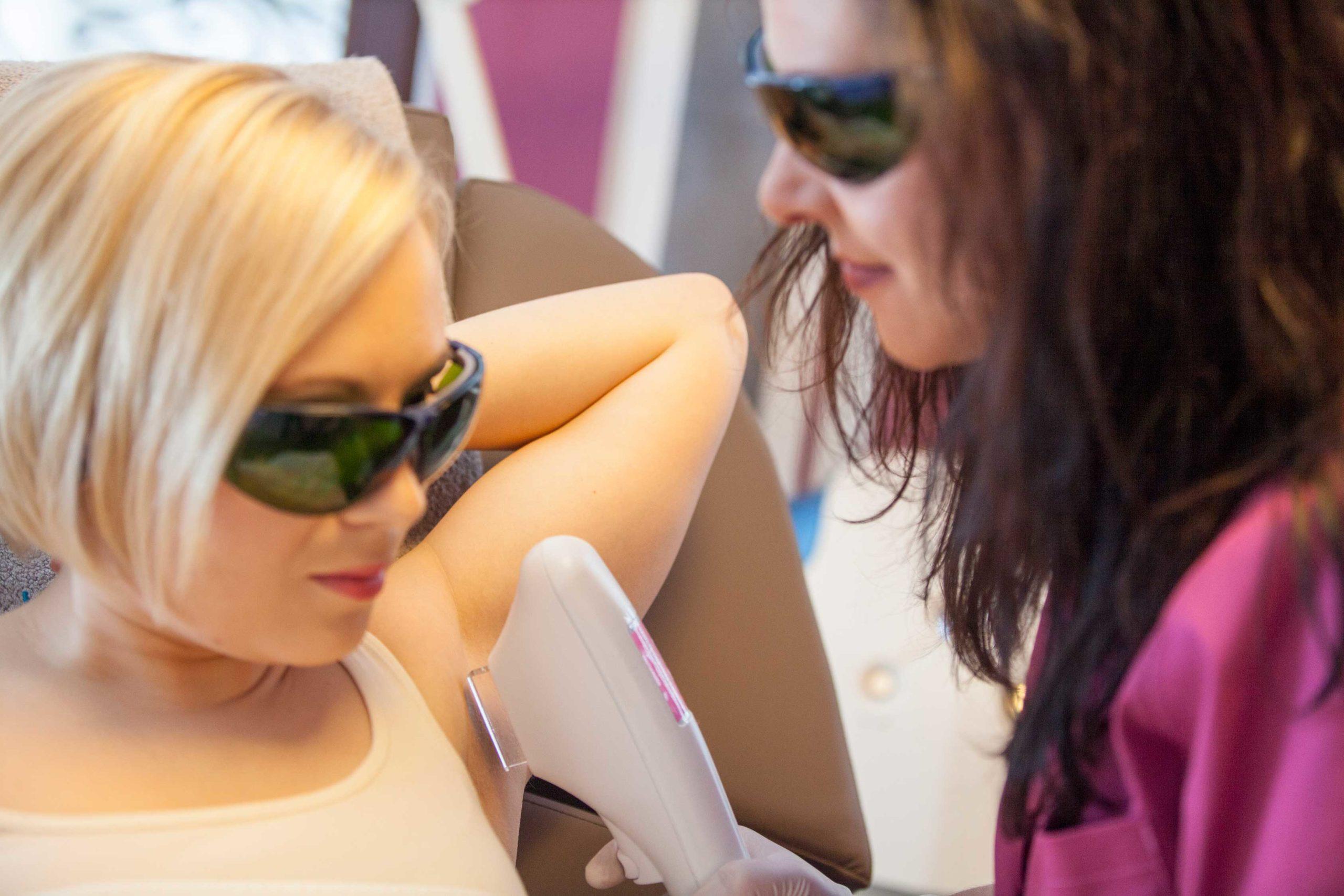 Behandlungen - Dauerhaft Haarentfernung